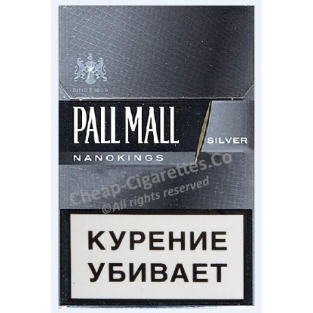 Pall Mall Nanokings Silver